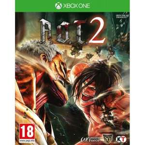 A.O.T. 2 (Attack on Titan 2) on Xbox One for £7.55 with code, delivered @ The Game Collection