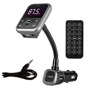 Bluetooth 4.0 Handsfree Car Kit, USB Charger, FM Transmitter with SD Slot, All in 1 - £9.99 at 7dayShop