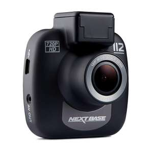 Nextbase 112 – Full 720p HD In-Car Dash Camera DVR - 120° Viewing Angle - Black - £27.95 Fulfilled by Amazon