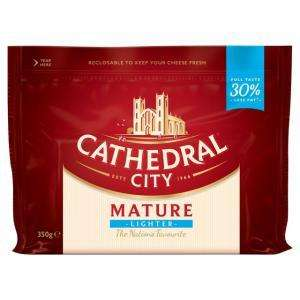 Cathedral City Extra Mature / Mature Lighter / Extra Mature Cheese 350g £3 or 2 for £4.00 at Iceland