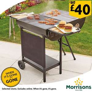 Twin Cook Wagon BBQ £40 In Store At Morrisons