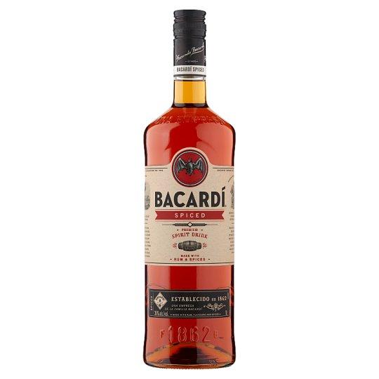 Bacardi Spiced Rum 1L £16 at Tesco