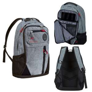 Trespass Rocka Adults Backpack Grey 35 Litre with Zipped Compartments £18.99 @ eBay (Trespass official store)