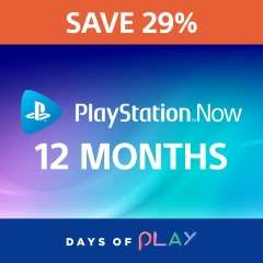 Playstation Now 12 Month Subscription 29% Off - £59.99