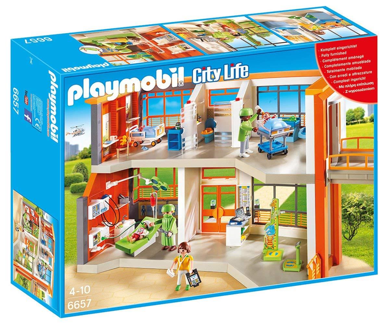 Playmobil 6657 City Life Furnished Children's Hospital £30 @ Amazon