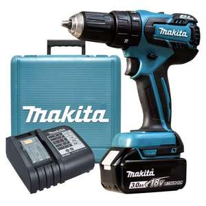 Makita DHP459SF 18v Brushless Combi Drill (1 x 3ah) (665661) - £119.99 @ ITS