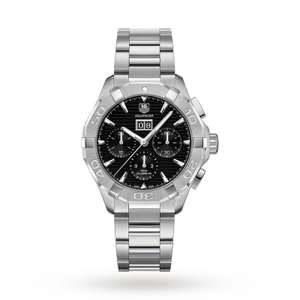 TAG HEUER AQUARACER MENS WATCH was £3400 now £2400. Online only @ Goldsmiths