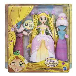 Disney Tangled Doll Rapunzel Hairstyle Collection now £4.84 add-on item at Amazon