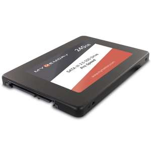 MyMemory 240Gb SSD 3 Year Warranty - £22.99 delivered @ MyMemory