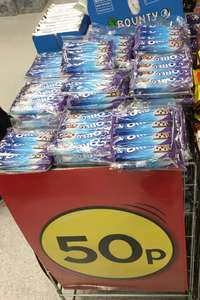 Milka and Oreo 4pack for 50p in Poundland