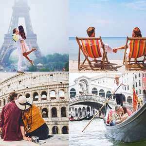 Mystery Holiday to Europe or New York, Bali, Dubai, Iceland, Disneyland amd more from £99pp @ Wowcher / weekender-breaks.co.uk