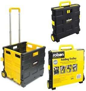 Rolson 25kg Folding Boot Cart for £8 with code @ Halfords (Free C&C)