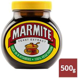 500g BIGGEST JAR of Marmite £4.50 @ Morrisons