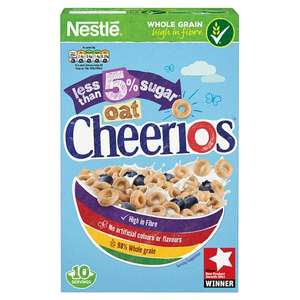 Nestle Cheerios Oat Low Sugar Cereal 325G - £1.50 @ Tesco