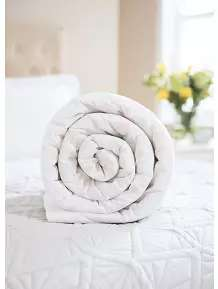 Summer  Duvet - 4.5 Tog Single  £5.00 / Double  £8.00 / King £10.00 / Superking £14.00 .  Also, Pillow 2 pack £5.00 free C&C @ Asda George