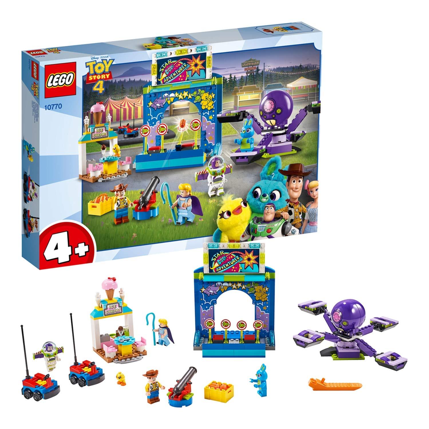 LEGO 10770 - Toy Story 4 Buzz & Woody's Carnival Mania - £40.80 @ Amazon