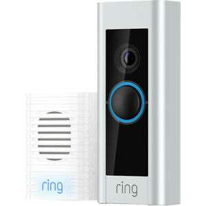Ring Pro Video Doorbell Kit with Chime - £161.10 (With Code) @ AO eBay