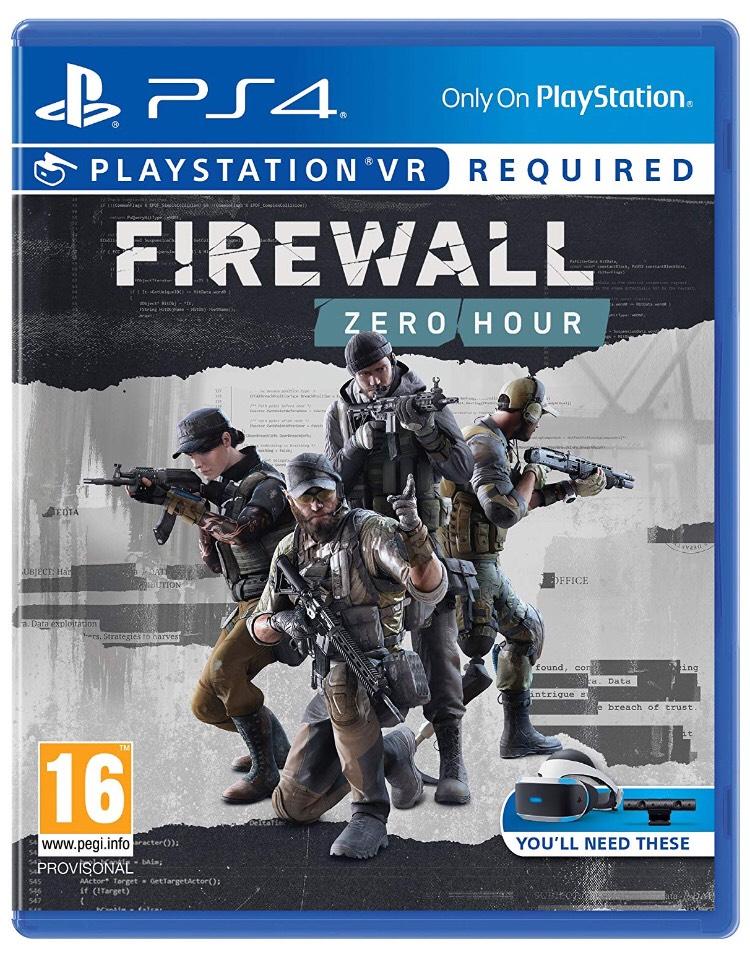 Firewall Zero Hour PS4 (VR required) £13.99 @ Amazon (+£2.99 Non Prime)