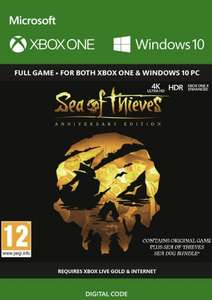 Sea of Thieves: Anniversary Edition Xbox One/PC Play Anywhere £19.99 @ Amazon