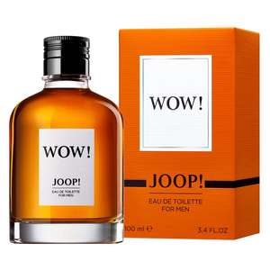 Joop Wow! 100ml On offer at Boots instore - £10