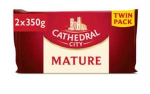 Cathedral city twin pack of cheese - £3.75 @ Asda
