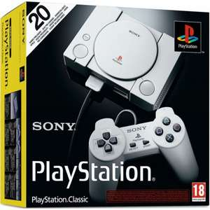 Playstation Classic £27.95 (Free Delivery) at The Game Collection