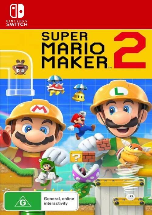 Super Mario Maker 2 **Digital version** Preorder £39.99 at CDKeys