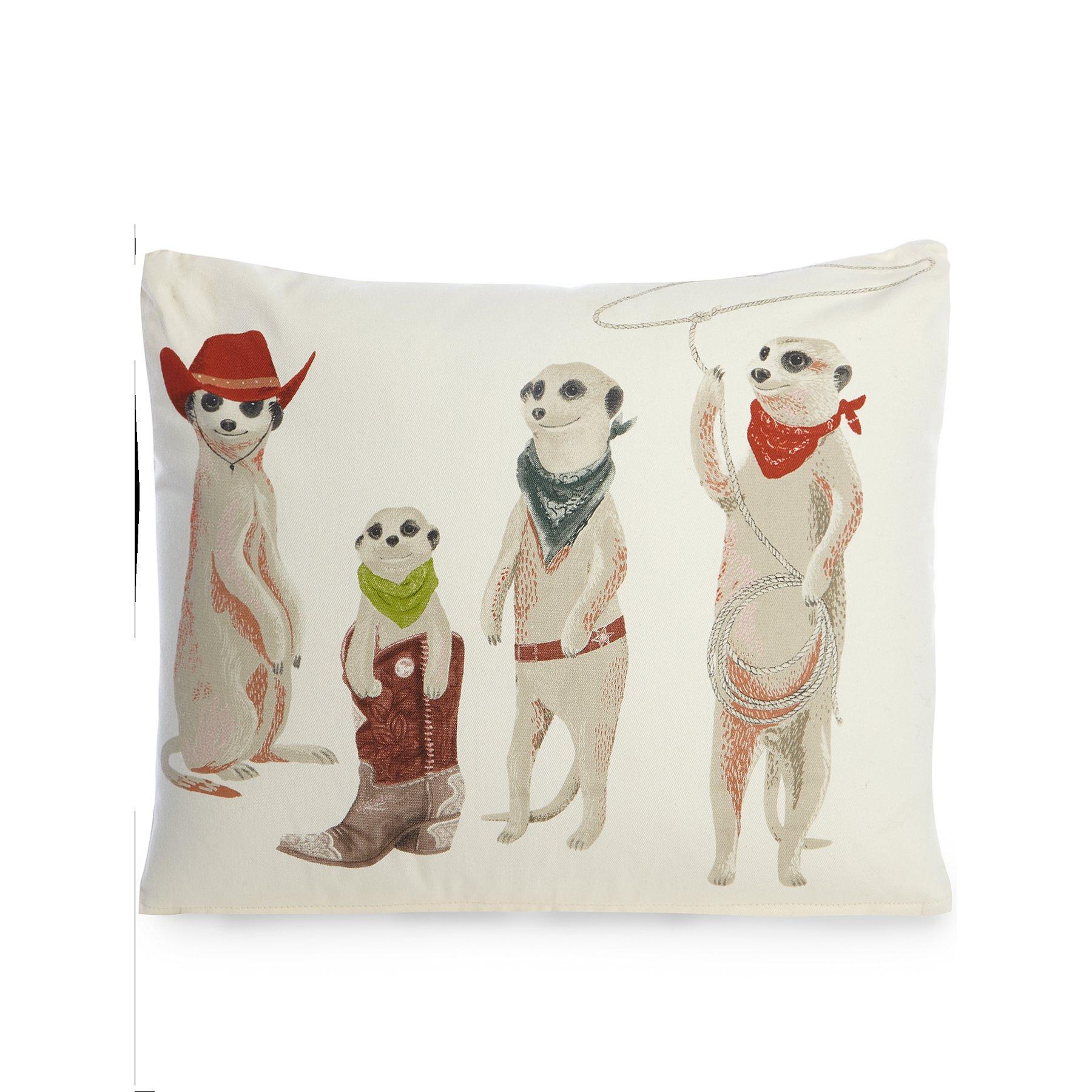 Meerkat Cowboy Print Cushion, Now £4.20 @ Asda ( Free C&C )