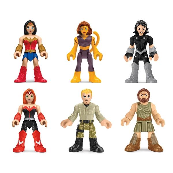 Imaginext - Legends of Batman (Wonder Woman or Female Heroes & Villains Sets) - £9.99 each Instore @ Smyths