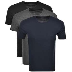 Boss Hugo Boss Triple Pack T-shirts Various Colours - £29.75 Delivered @ Mainline Menswear