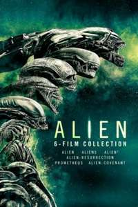 Alien 6 Film Collection and Predator 4 Movie Collection £3.99 each @ iTunes