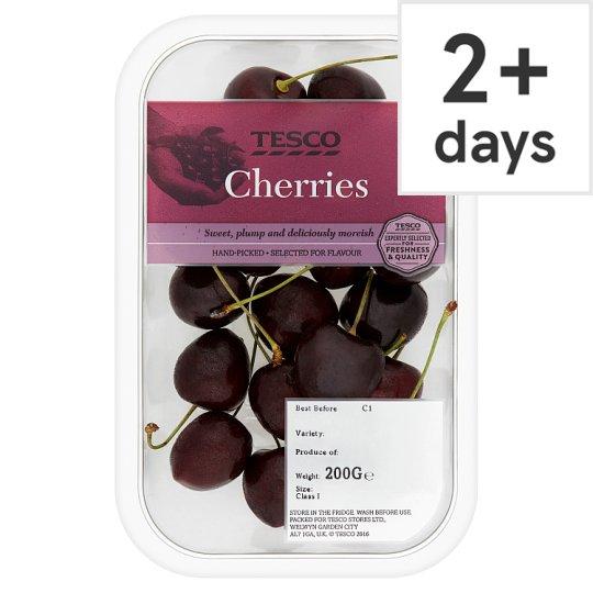 (From 11th June) Cherries 200G £0.79 / Tesco Cornish New Potatoes 500G £0.45