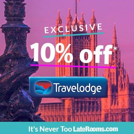 Lateooms Travelodge Sale - 10% off
