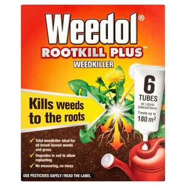 Weedol Root Kill Plus Weed Killer 6 Tubes + 2 Free for £2.93 @ Morrisons