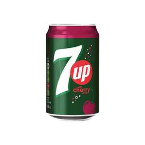 7UP CHERRY CAN 330ML 29P OR 4 FOR £1 @ Poundstretcher
