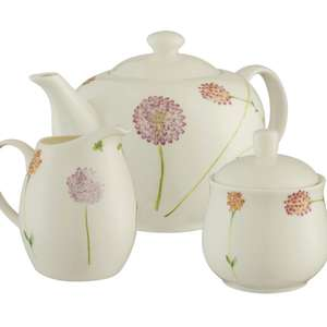 Aynsley China Set - Bloom ; Teapot & Sugar Jar & Cream Jug , Now £16.50 Delivered with code  @ Debenhams