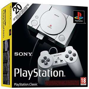 Playstation Classic - Amazon Prime Now - £26.99 + £3.99 p&p (free p&p over £40)