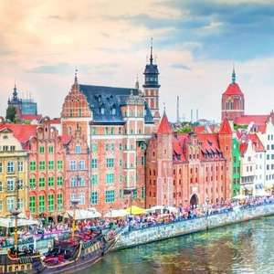 3 nights in Gdansk 19th-22nd October - £90pp (£180) based on 2 people sharing - from Luton @ Skyscanner