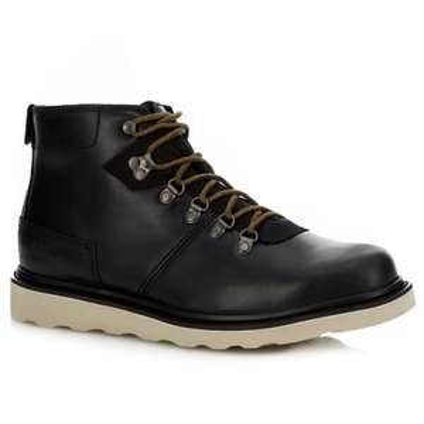 Caterpillar - Black leather 'Shaw' hiking boots £33 at Debenhams