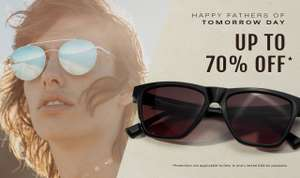 Up to 70% off some Hawkers Sunglasses (for fathers day apparently) plus !0% using code@Hawkers plus £5 shipping