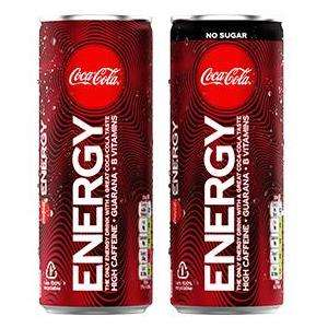 2 Free Cans Coke Energy £1.10 Each @ WHSmith/ Boots / Co-op / BP / Budgens / Londis 1 reg 1 sugar free) FREE via redemption @ CheckoutSmart