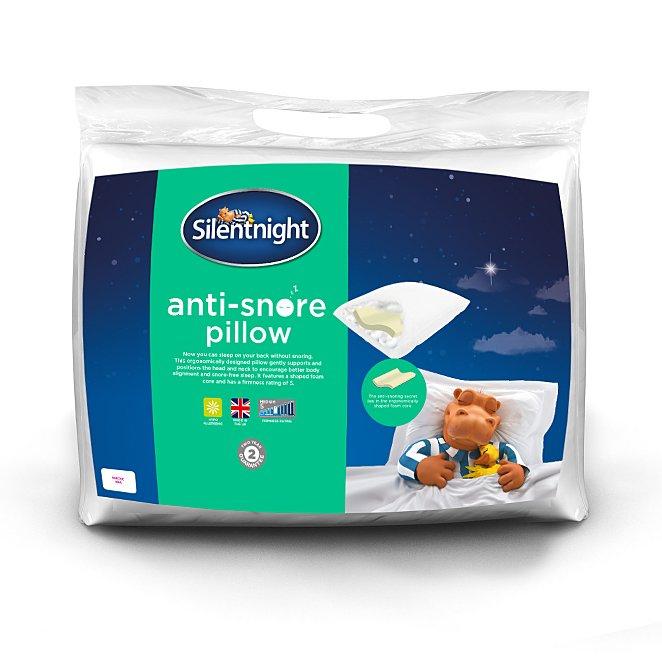 Silent night anti snore pillow - £9 Free C+C Asda