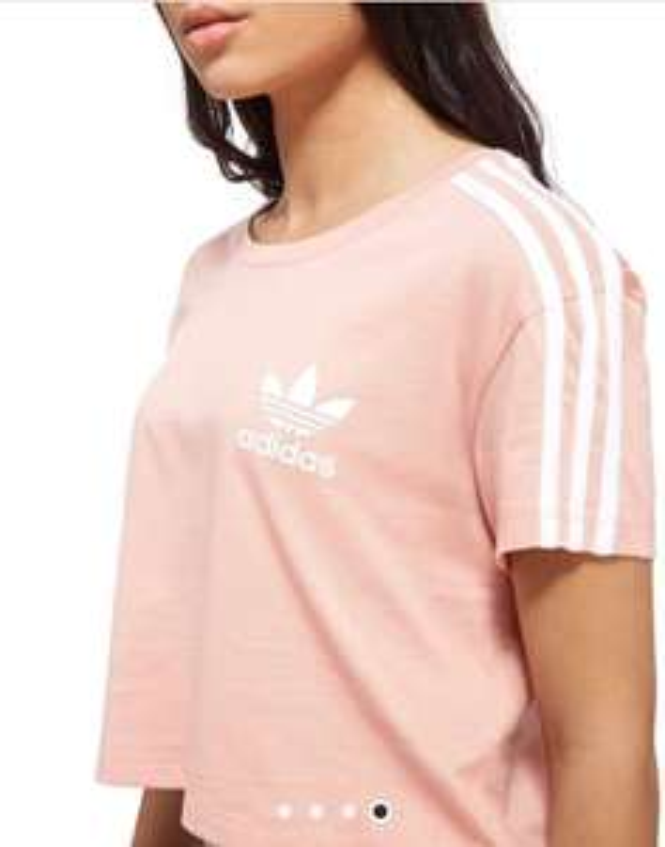 adidas Originals Crop California T-Shirt Now £3.75 size 8 @ JD Sports Free C&C