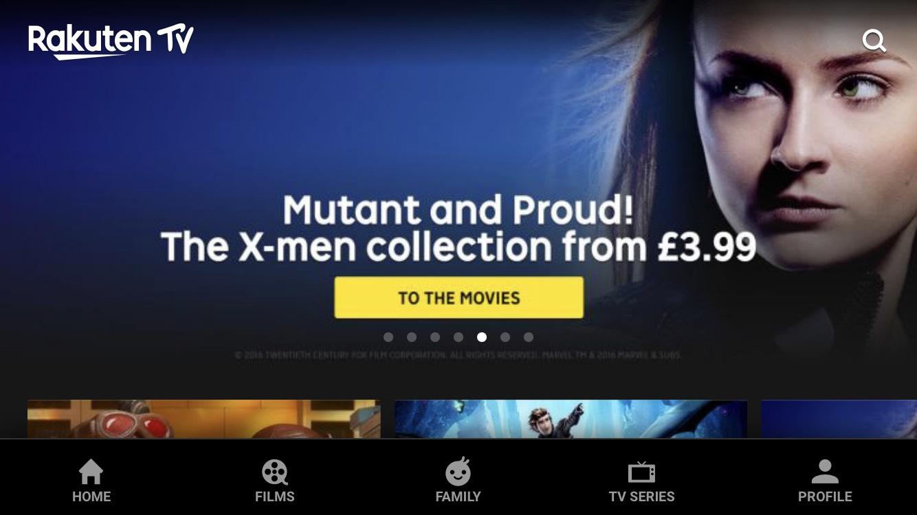 Xmen movies in UHD 4K from £3.99 @ Rakuten