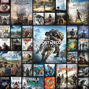 Uplay+ (Ubisoft Subscription Service) Free Trial 3-30 September @ Ubisoft Store