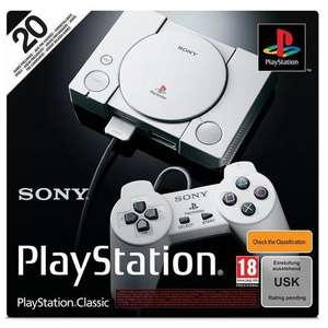 Playstation Classic Mini Console £26.99 @ Very.co.uk - free c&c
