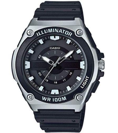 Casio Men's MWC-100H Watch 47mm Silver £19.20 (Prime) / £23.69 (non Prime) at Amazon
