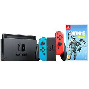 Nintendo Switch Neon Console + Fortnite Deep Freeze Bundle £219.99 Free C&C Or £3.50 Delivery @ Home Essentials