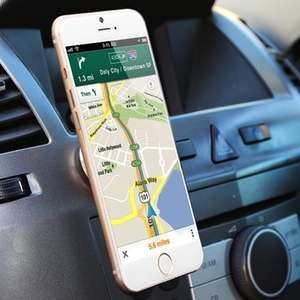 Unicersal Magnetic in car Phone Holder £1.99 from Groupon (plus £1.99 postage)