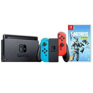 NINTENDO SWITCH Neon Console + Fortnite Deep Freeze Bundle - £223.98 Delivered @ Jacamo